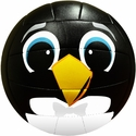 Molten Black Penguin Smiley Face Mini Volleyball