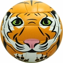Molten Orange Tiger Smiley Face Mini Volleyball
