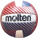 Molten Red & Blue w/ Silver Stripe Mini Volleyball