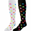 Neon Stars Knee High KraziSox - 2 Color Options