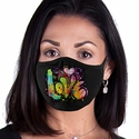 Painted Love Design 2-Ply Face Masks in Choice of 3 Colors