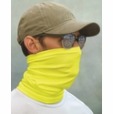 Paragon Sun Protection Neck Gaiter / Face Cover in Safety Green