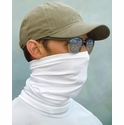 Paragon Sun Protection Neck Gaiter / Face Cover in White