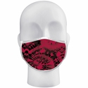 Red Tie Dye Pattern 3-Ply Face Mask