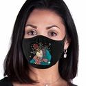 Snowman Design 2-Ply Face Mask in 3 Color Options