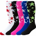 Stars Knee High Socks - 20 Color Options