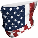 USA Flag Neck Gaiter / Face Covering in 2 Sizes