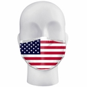 USA Flag Pattern 3-Ply Face Mask