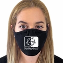 Volleyball In Motion Design 2-Ply & 3-Ply Face Masks in 6 Color Options