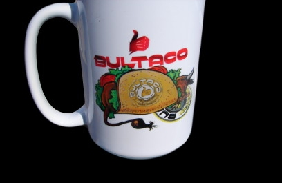 """BULL IN A TACO"" Coffee Mug"