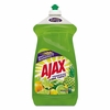 Ajax Dish Detergent, Lime Scent, 52 oz Bottle, 6/Carton