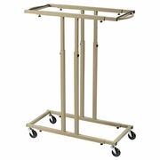 ALVIN Mobile Racks for Blueprints Holds 18 Clamps
