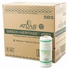 Atlas Green Heritage   Kitchen Towel Rolls 30rls/cs  FREE SHIPPING