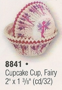 Baking Cups Fairy Dust Design  Cupcake Cups 32/pkg