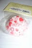 Baking Cups White Paper with Red Hearts Mini Muffin  Size 75/pkg