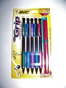 Bic Matic Grip Mechanical Pencil Set 5pc.