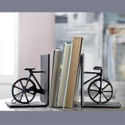 Bicycle Bookends Cast Iron