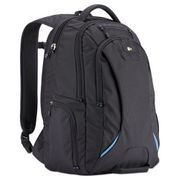 "Case Logic 15.6"" Checkpoint Friendly Backpack, 2.76"" x 13.39"" x 19.69"", Polyester, Black"
