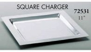 Charger Square Stainless Steel