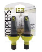 Joie Expand & Seal Wine Bottle Topper 2pc carded.