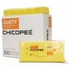 Chicopee Dusty Disposable Dust Cloths, 10 1/4 x 24, Yellow, Rayon/Poly, 25/Bag, 8 Bag/Carton
