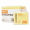 Chicopee Dusty Disposable Dust Cloths, 14 5/8 x 17, Yellow, Rayon/Poly, 25/Bag, 12 Bag/Carton