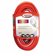 Coleman Cable Stripes Extension Cord, 12/3 AWG, 50ft