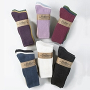 Crew Socks Organic Cotton  Tri-Packs