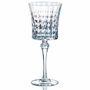 Eclat Cristal d'Arques Lady Diamond Krysta Goblet Glass   9oz   Set of 6