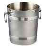 Deluxe Wine Cooler, Ice Bucket  Stainless Steel