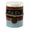 Fresh Fig Moroccan Pillar Candle  3 x 4