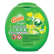 Gain Flings   Original Laundry Detergent Pods 72pods/container 4/case  FREE SHIPPING