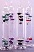 "Galileo Thermometer 11""    Multi-Color"