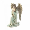 Graceful Kneeling Angel Figurine