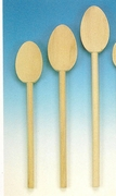 Heavy Duty Beechwood Spoons with Extra Large Bowl