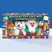 Holiday Dog Toy Gift Box  (4pc)