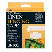 "Lineco Linen Hinging Tape Self Adhesive 1-1/4""w"