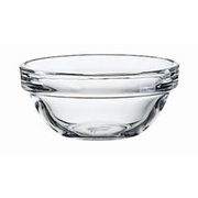 "Luminarc Stackable Kitchen Prep Glass Bowl  2 1/4""   12/set"