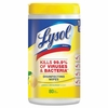 LYSOL Brand Disinfecting Wipes  80 ct Tub  Lemon & Lime Blossom  Scent  6/cs  FREE SHIPPING