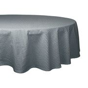Tablecloth 70 in Round Seersucker  Color:Mineral