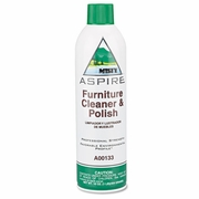 Misty Aspire Furniture Cleaner & Polish, Lemon Scent, 16oz Aerosol 12/ctn FREE SHIPPING