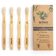 Natural Bamboo Toothbrush for Children