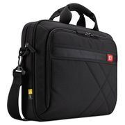 "Case Logic Diamond 17"" Laptop Briefcase, 17.3"" x 3.2"" x 12.5"", Black"