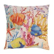 Coral Reef Decorative Throw Pillow