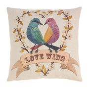 Love Birds (Love Wins) Decorative Throw Pillow