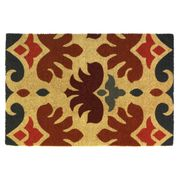 Nikki Chu Charles Rooster Coir Coormat  24 x 36