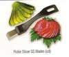 Pickle Slicer Stainless Steel Blades