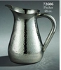 Pitcher Hammered Stainless Steel  48oz.