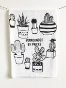 Surrounded by Pricks Cotton Kitchen Towel 28 x 29