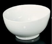 Porcelana Schmidt White Porcelain Bowl 55oz   8""